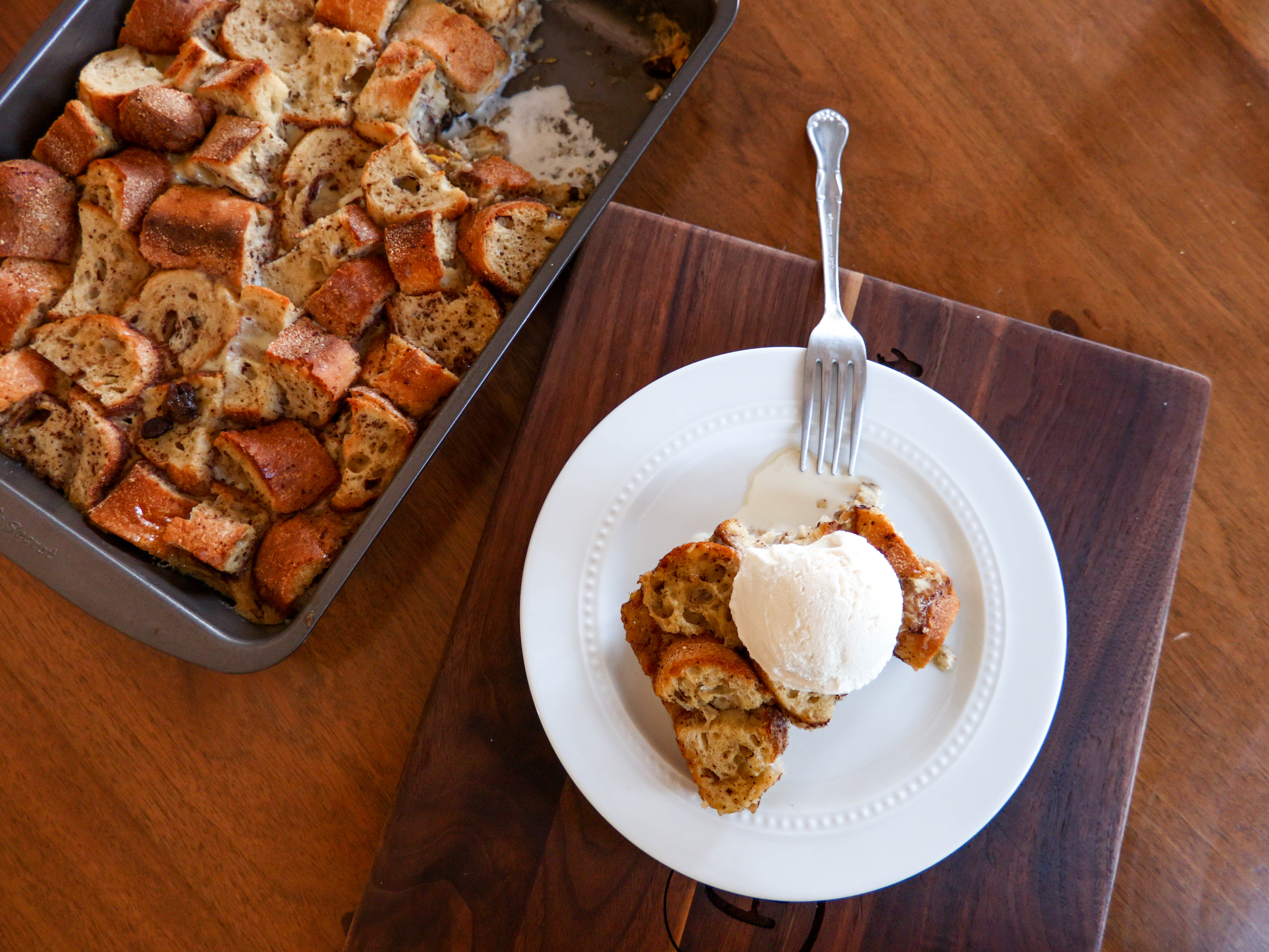 Cannabis Bread Pudding