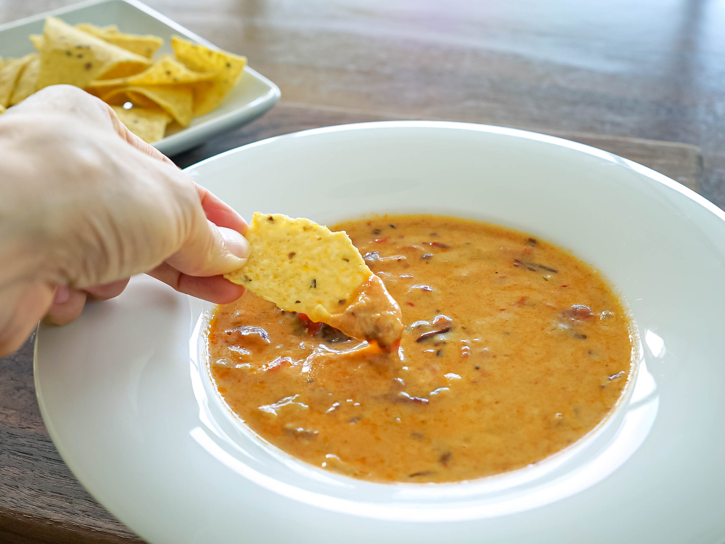 Cannabis Infused Queso Dip