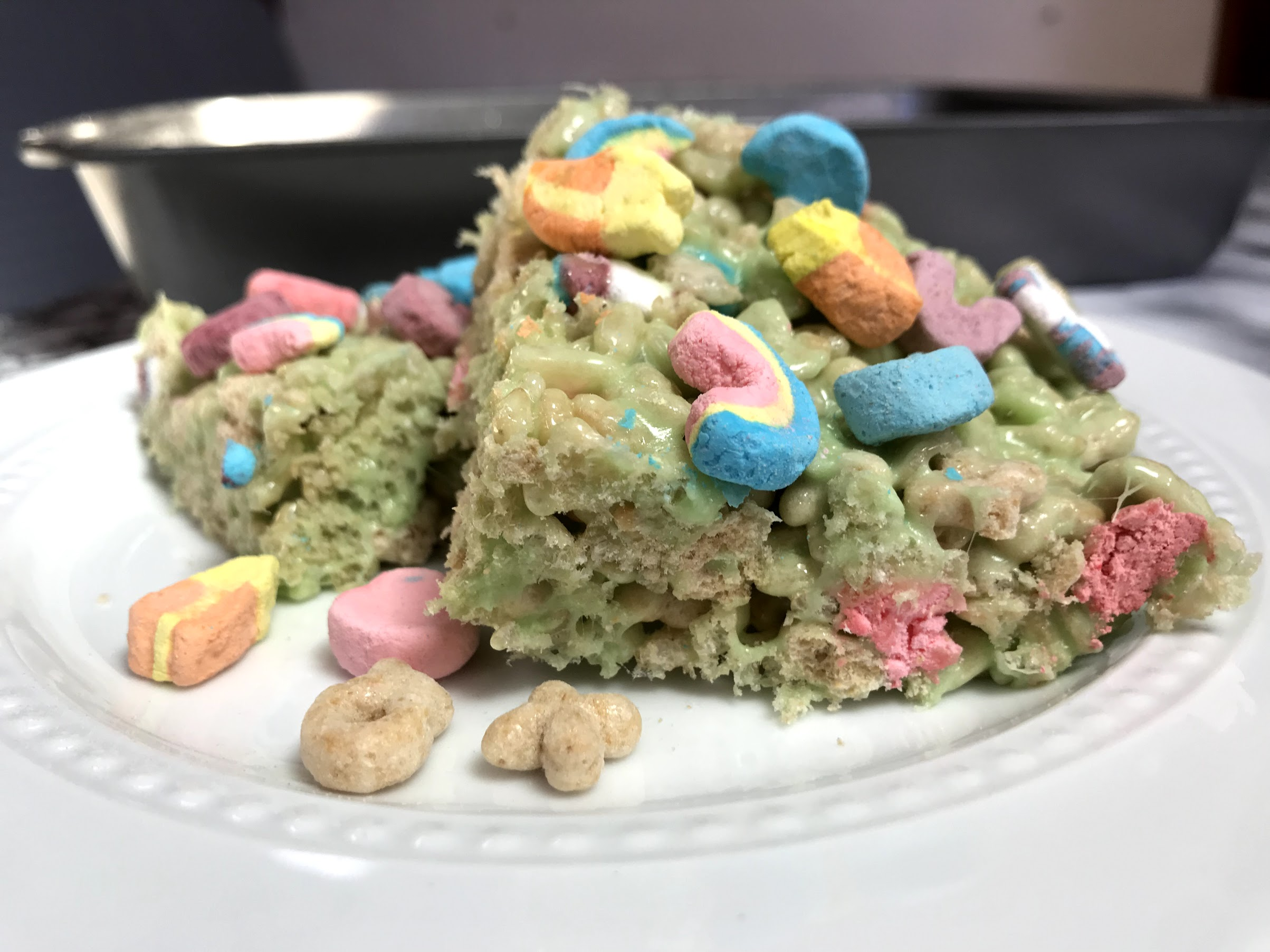 Lucky Charms Cannabis Rice Krispie Treats